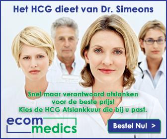 3 unieke HCG Afslankkuren