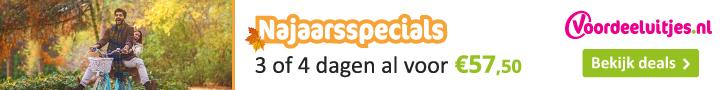 Najaarsspecials Voordeeluitjes.nl
