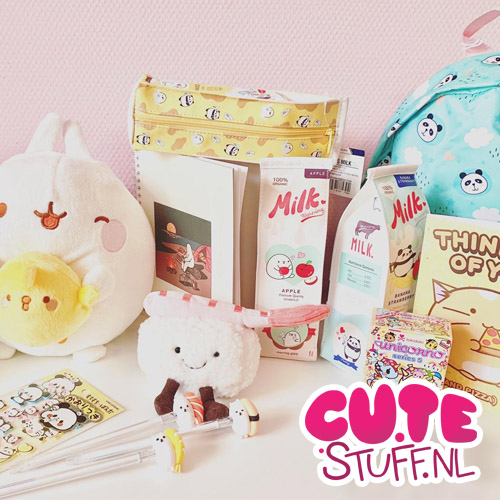 CuteStuff.nl, kawaii shoppen, 200% cute!
