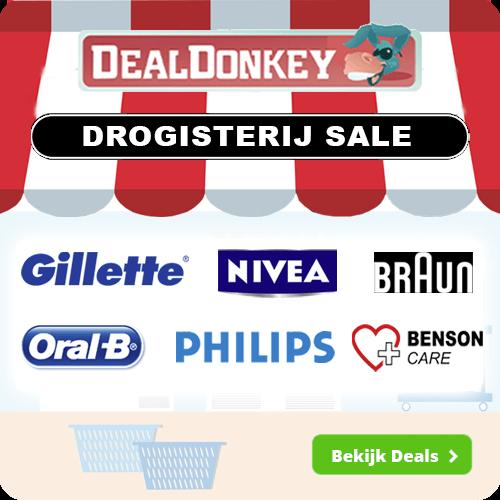 Klik hier voor de korting bij Dealdonkey.com