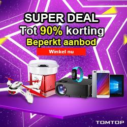 Super Deal                Tot 90% korting                    Beperkt aanbod