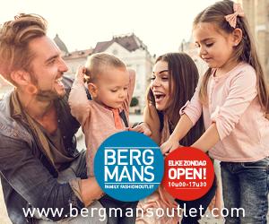 Klik hier voor de korting bij Bergmansoutlet.com