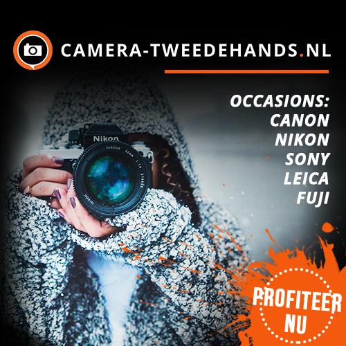 Klik hier voor de korting bij Camera-tweedehands.nl