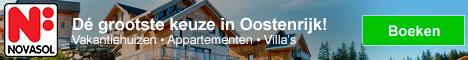 NOVASOL Vakantiehuizen in Oostenrijk