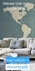 Geef je muur een nieuwe look met een fotobehang!