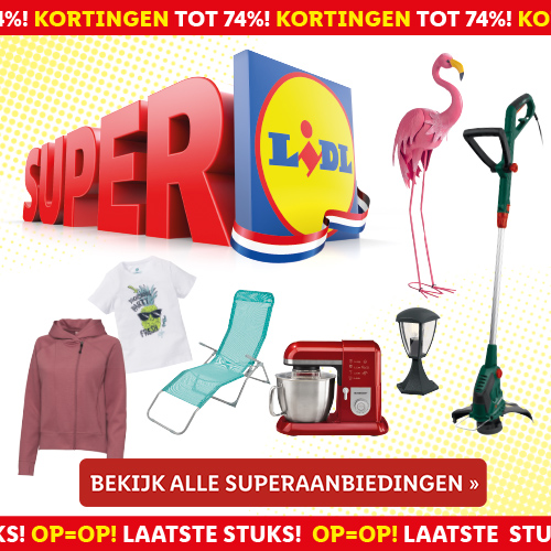 Klik hier voor de korting bij Lidl-shop.nl