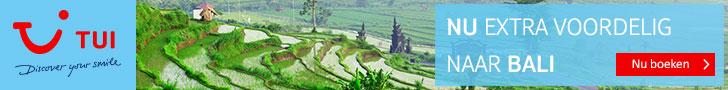 Nu extra voordelig naar Bali