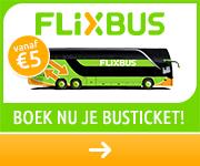 FlixBus bustickets voor 2020