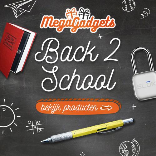 Toffe Back2School gadgets bij MegaGadgets!