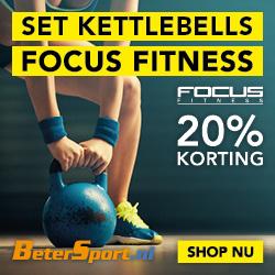 Focus Fitness Kettlebells - 20% korting