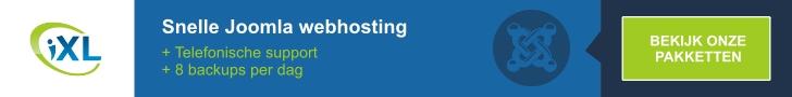 Snelle Joomla Webhosting