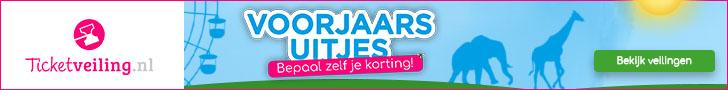 Voorjaarsuitjes bij Ticketveiling.nl!