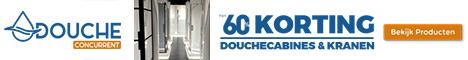 Douche Concurrent | Voor al uw sanitaire artikelen