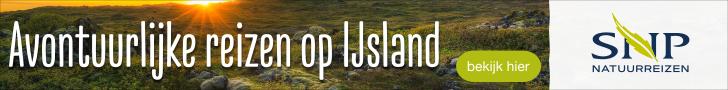 SNP Natuurreizen in IJsland