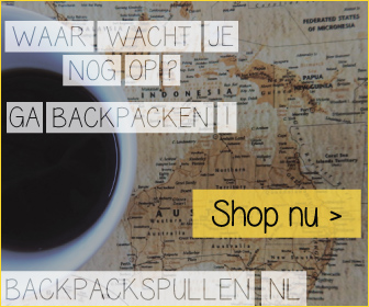 Klik hier voor de korting bij Backpackspullen.nl