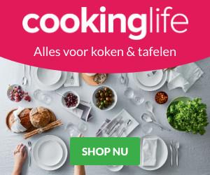 Klik hier voor de korting bij Cookinglife.nl