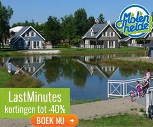 Last Minutes voor je bungalowvakantie op Park Molenheide