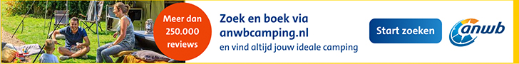 ANWB Campings 2019 – Zoek en boek meer dan 9000 campings in 27 landen