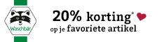 Klik hier voor de korting bij Waschbaer.nl