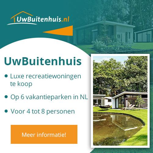 Uwbuitenhuis.nl, Luxe recreatiewoningen