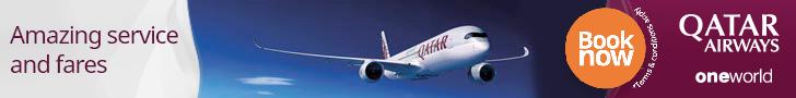 Qatar Airways vliegtickets 2018