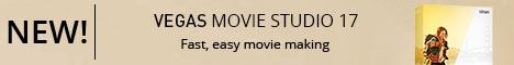 NEW! VEGAS Movie Studio 17. Creëer verbazing. Eenvoudig.