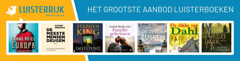 Voor luisterboeken ga je naar Luisterrijk!