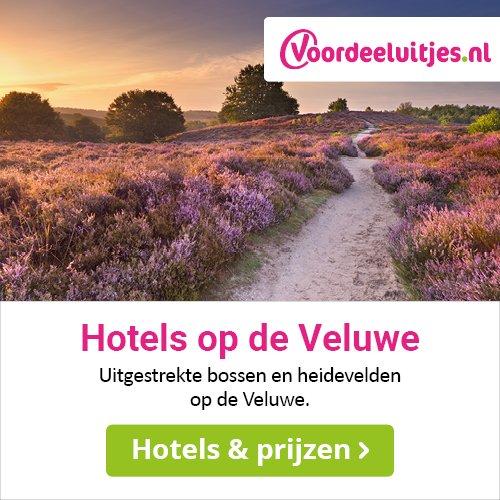 Hotels op de Veluwe, te boeken via Voordeeluitjes.nl