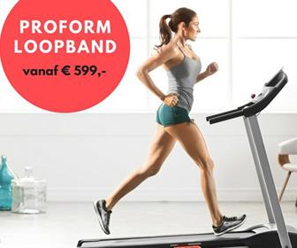 ProForm Loopbanden bij Betersport.nl