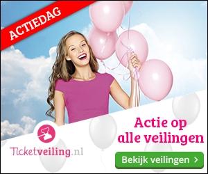 Actiedag bij Ticketveiling.nl!