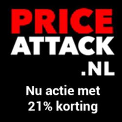 Klik hier voor de korting bij Priceattack.nl