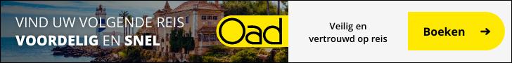 OAD vakanties en reizen in 2020