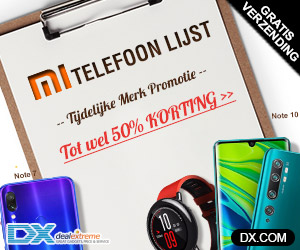 Klik hier voor de korting bij DealeXtreme NL