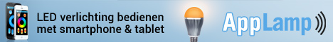 LED verlichting bedienen met je smartphone of tablet