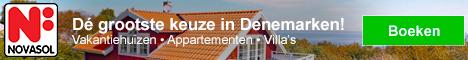 NOVASOL Vakantiehuizen in Denemarken