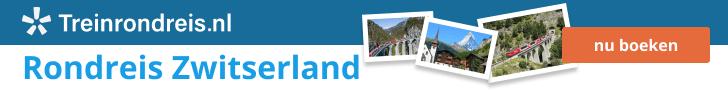 Treinrondreis Zwitserland