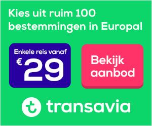 Transavia Ruim 100 bestemmingen in Europa