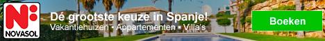 NOVASOL Vakantiehuizen in Spanje