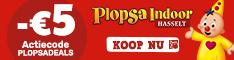 Korting op de Plopsa themaparken bij de officiële Plopsa website