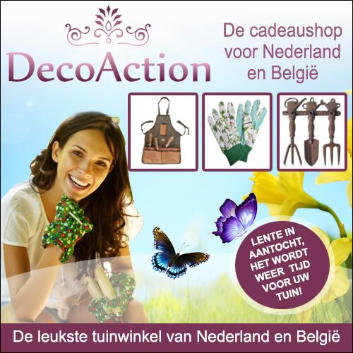 Genieten in uw tuin met het gereedschap van DecoAction