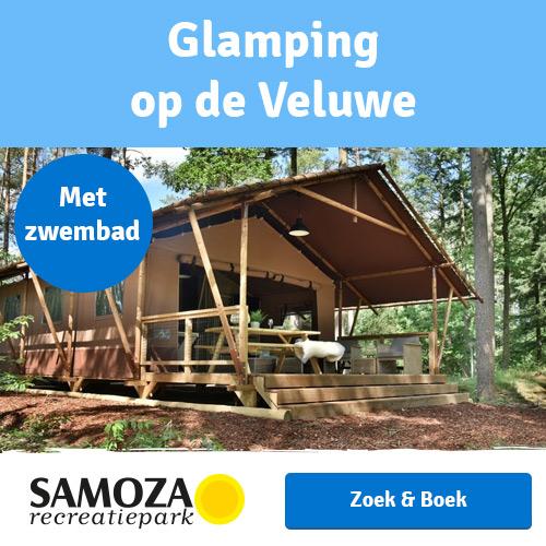 Glamping op de Veluwe