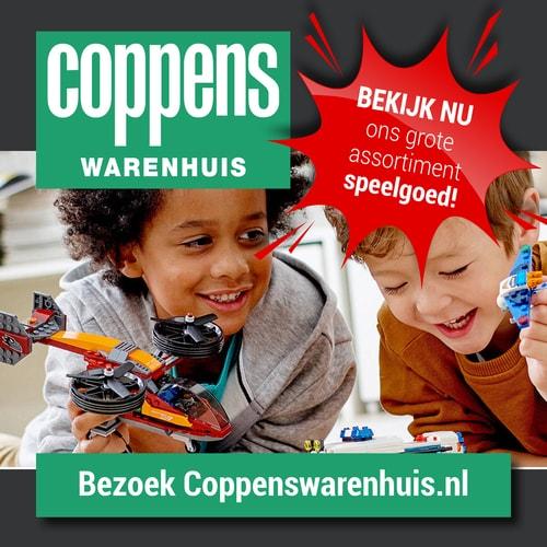 Een groot assortiment speelgoed voor Sinterklaas