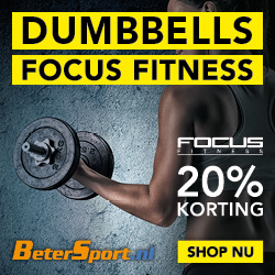 Focus Fitness Dumbbells - 20% korting