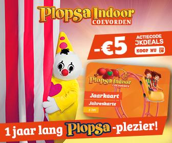 Voordelig naar Plopsa Indoor Coevorden