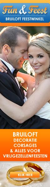 Bruiloft feestwinkel