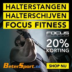 Focus Fitness Halterstangen/halterschijven - 20% korting
