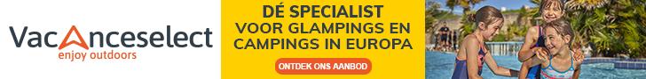 Vacanceselect is specialist en voorloper op glamping gebied en bied gezinsvakanties aan in heel Europa!