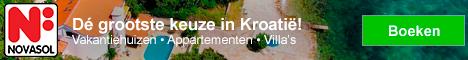 NOVASOL Vakantiehuizen in Kroatië