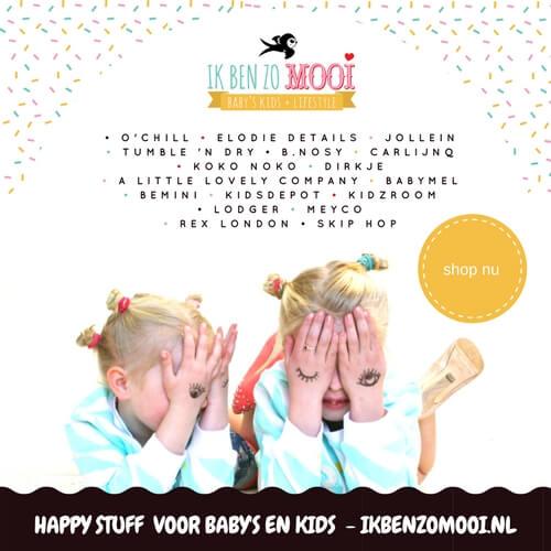 Ik Ben Zo Mooi happy stuff voor baby's en kids