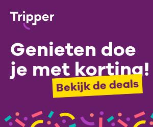 Genieten doe je met korting bij Tripper.nl